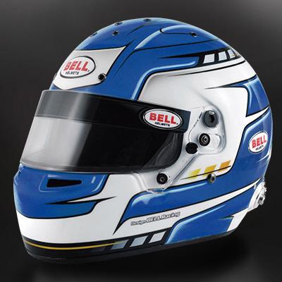 BELL RACING ヘルメット RS7 PRO ファルコンブルー SNELL2015 FIA公認8859-2015