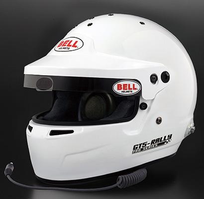 BELL RACING ヘルメット GT5 RALLY ホワイト SNELL SA2015 FIA公認8859-2015