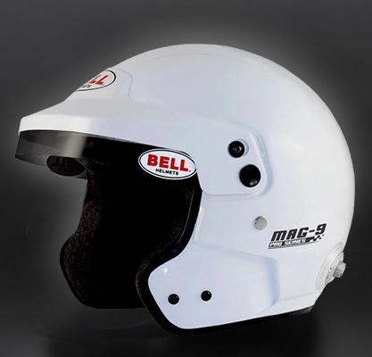 BELL RACING ヘルメット MAG9 ホワイト SNELL SA2015 FIA公認8859-2015