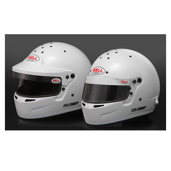 BELL RACING ヘルメット GT5 TOURING ホワイト バイザー&シールド リバーシブルタイプ SNELL2015 FIA公認8859-2015