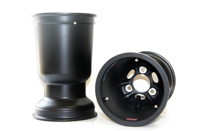 CRG ホイール MAG Vented LV (182mm/121mm/214mm) 1本 レーシングカート専用マグネシウムホイール (CRG2014モデル以降純正採用サイズ)