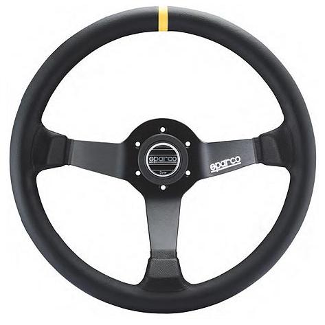 SPARCO スパルコ Racing ステアリング ホイール R345 スウェード 015R345MSN