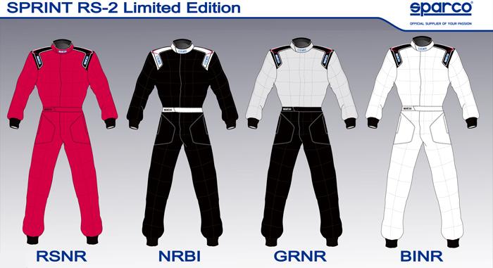 SPARCO スパルコ レーシングスーツ SPRINT RS2 LTD エディション FIA公認8856-2000 4輪用 (001084SP)