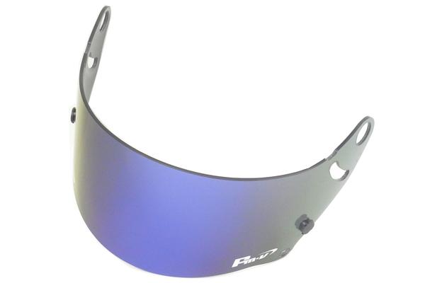 FMV Plus パープル×ブルー アライ4輪ヘルメット GP-5W GP-5X用 Fm-vミラーシールド