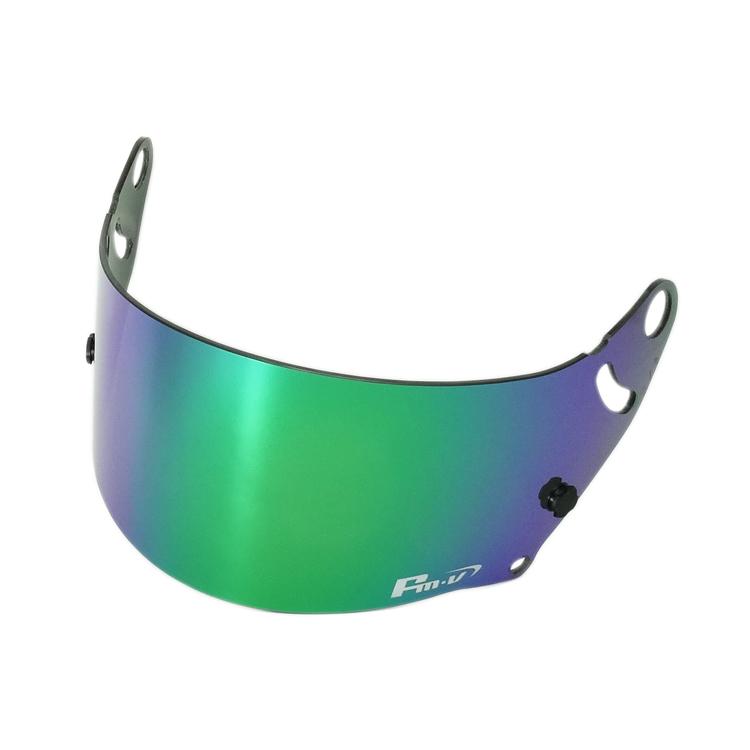 Fm-vミラーバイザー FMV Plus グリーン Fm-vミラーシールド GP-5W GP-5X用 新作入荷 ◆在庫限り◆ アライ4輪ヘルメット