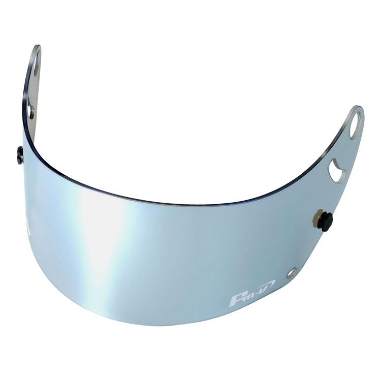 FMV Plus アイスシルバー ライトスモーク アライ4輪ヘルメット GP-6 GP-6S SK-6 用 Fm-vミラーシールド