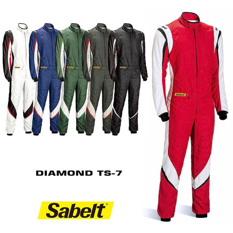 Sabelt サベルトレーシングスーツ DIAMOND TS-7 FIA8856-2000公認モデル