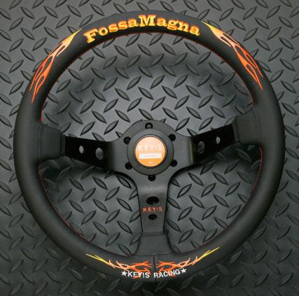 KEY!S Racing フォッサマグナ スーパードレス ステアリング ディープタイプ (MOMOピッチ)