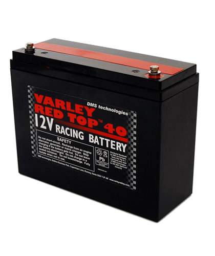 Varley Red Top 40 レッドトップ レーシング ドライ バッテリー 12V