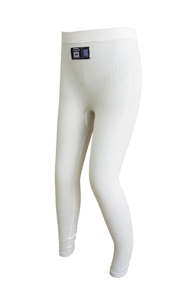 OMP インナーウエア TECNICA BOTTOM (テクニカ)WHITE (ホワイト) IAA/757CN FIA8856-2000公認