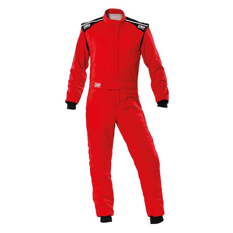 2020モデル OMP FIRST-S SUIT レッド(赤) レーシングスーツ FIA8856-2018公認 RED (061)