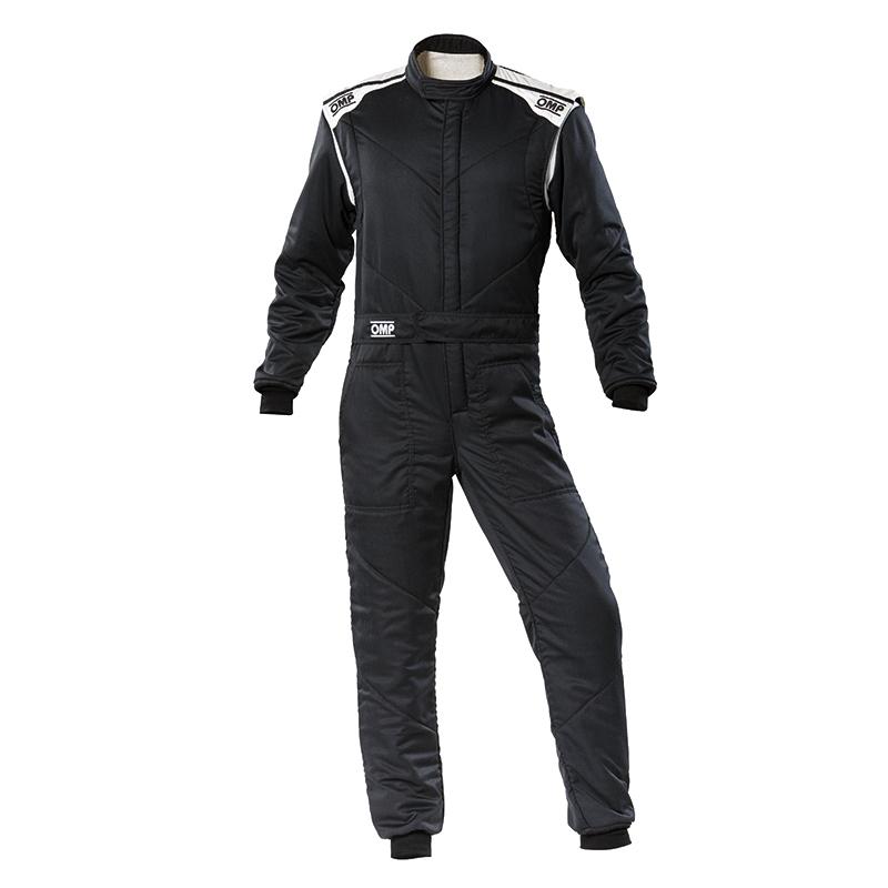 2020モデル OMP FIRST-S SUIT ブラック(黒) レーシングスーツ FIA8856-2018公認 BLACK (071)