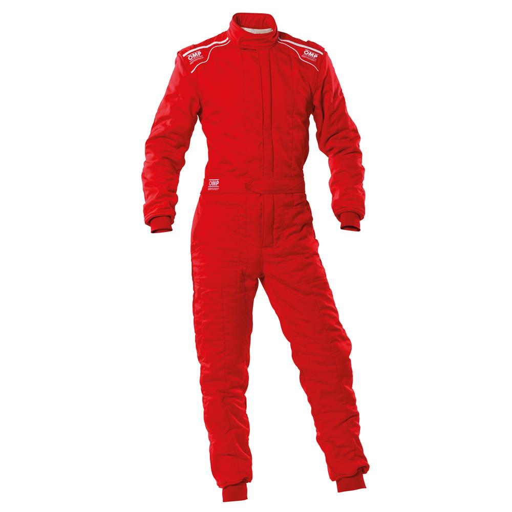 2020モデル OMP SPORT SUIT レッド(赤) レーシングスーツ FIA8856-2018公認 RED(061)