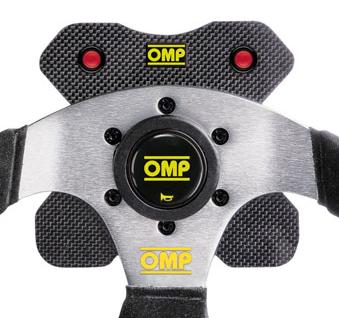 OMP ステアリング プレート OD2026 カーボン 4ボタン用 ボタン無し (OD/2026)