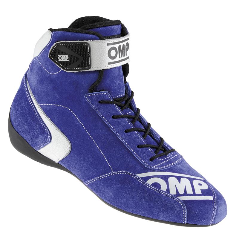 アウトレットセール! 2015-19モデル OMP FIRST S SHOES ブルー レーシングシューズ FIA公認8856-2000 (IC/802041)