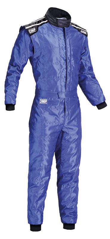 OMP KS-4 SUIT ブルー レーシングスーツ CIK-FIA LEVEL-1公認 レーシングカート・走行会用 (KK0172041)