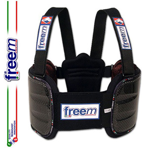 FreeM フリーム BRAVE リブプロテクター ベスト カーボン レーシングカート用