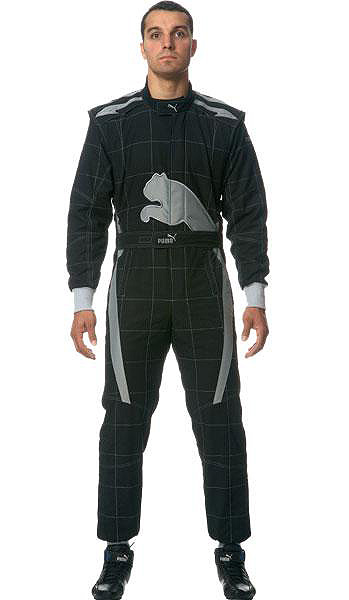 Some size own country order product for PUMA puma racing suit KART CAT black kart racing, run society
