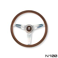 NARDI ナルディ ステアリング CLASSIC クラッシック ウッド&ポリッシュスポーク 330mm (N100)