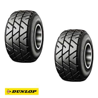 DUNLOP ダンロップ SL98(KT7) フロント 2本セット レーシングカート用 オールウェザータイヤ (244489)