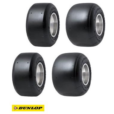 DUNLOP ダンロップ DF2 前/後セット(フロント&リア) レンタルカート用 タイヤ