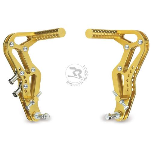 RR アクセルペダル+ブレーキペダルセット アルミ製 レーシングカート専用ペダル 左右セット