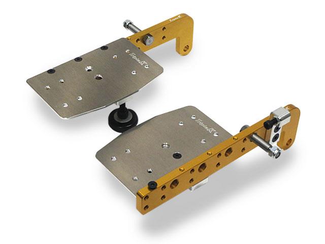 Triple K トリプルケー Jr用ペダルキット 左右セット(1台分) OTK系ペダルボルト10mm アルミペダル仕様専用