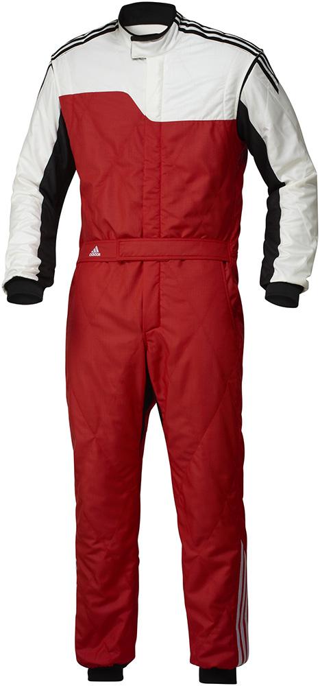 adidas(アディダス)レーシングスーツ RS CLIMACOOL NOMEX SUIT RED/WHITE FIA8856-2000公認 本国取り寄せ商品