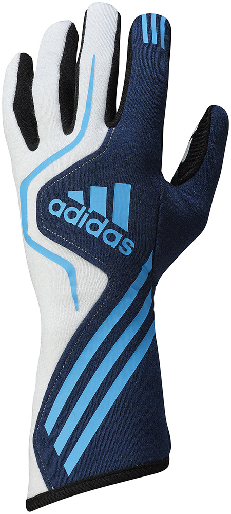 adidas(アディダス)レーシンググローブ RS GLOVES NAVY/WHITE/BLUE FIA8856-2000公認