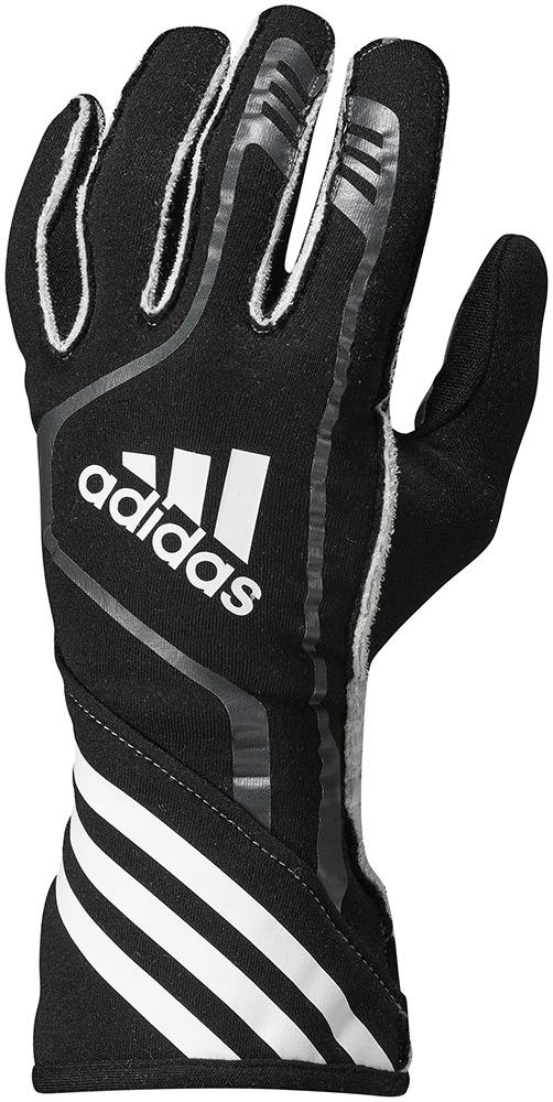 adidas(アディダス)レーシンググローブ RSR GLOVES BLACK/GRAPHITE/WHITE FIA8856-2000公認
