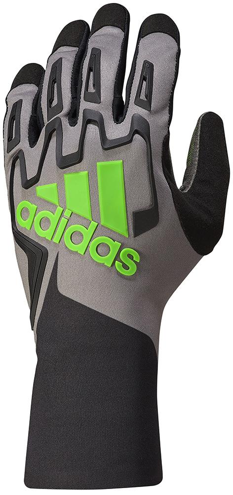 アウトレットセール! adidas アディダス RSK KART GLOVES BLACK/GRAPHITE/FLUO GREEN カートグローブ レーシングカート・走行会用