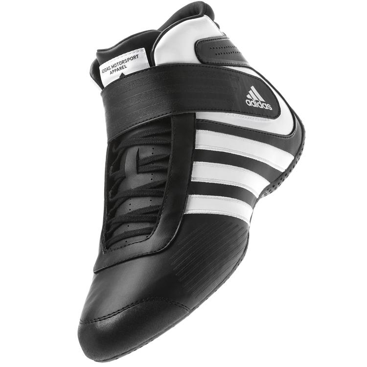 adidas アディダス KART XLT レーシングシューズ BLACK×RUNNING WHITE レーシングカート・走行会用 (F62202)