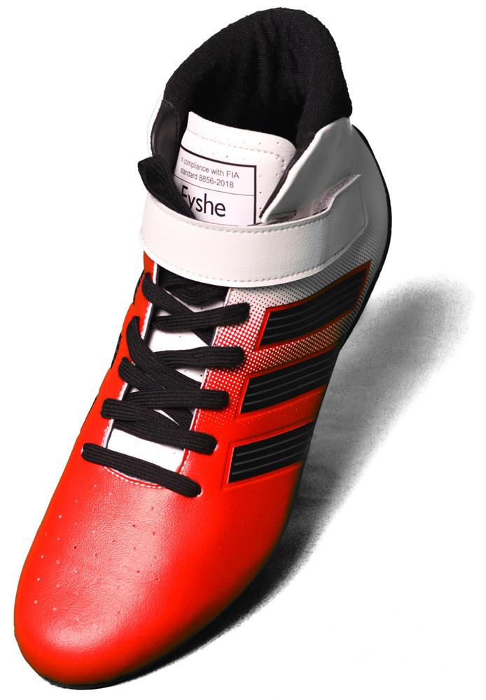 adidas アディダス RS Boot RED/WHITE(赤) レーシングシューズ FIA8856-2018 公認 (F95113)
