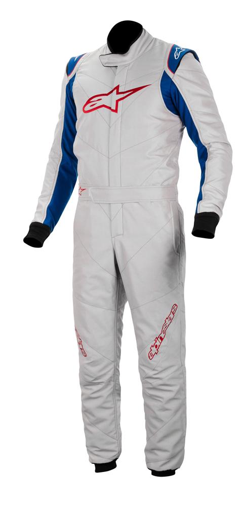 アウトレットセール! 2014~16モデル アルパインスターズ GP RACE SUIT SILVER BLUE (ジーピー・レース)レーシングスーツ FIA8856-2000公認モデル(3355014-197)