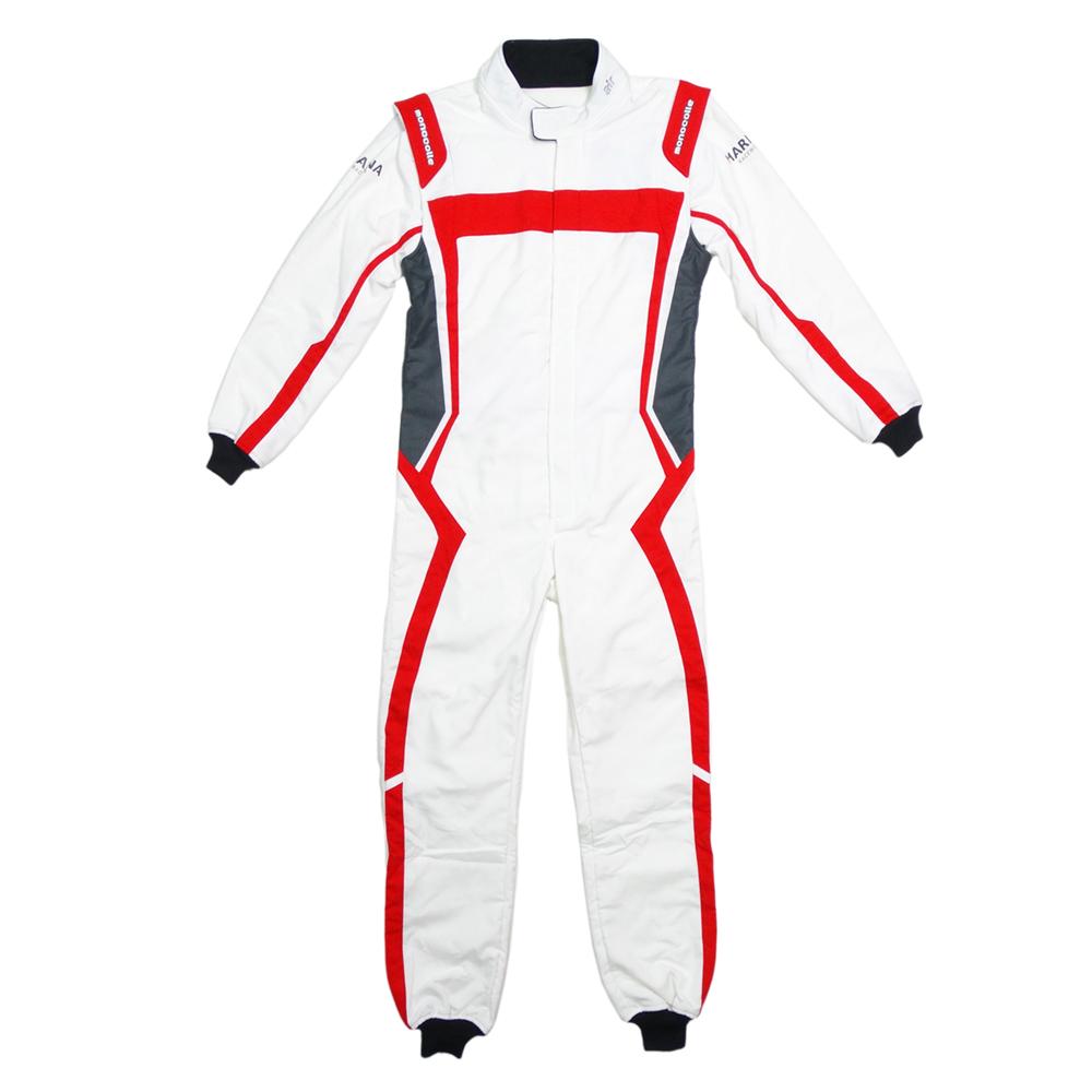 monocolle Marina コラボスーツ FIA8856-2000 公認 4輪レーシングスーツ カラー 004 RED WHITE monocolle special 基本受注生産品(一部即納在庫有り)