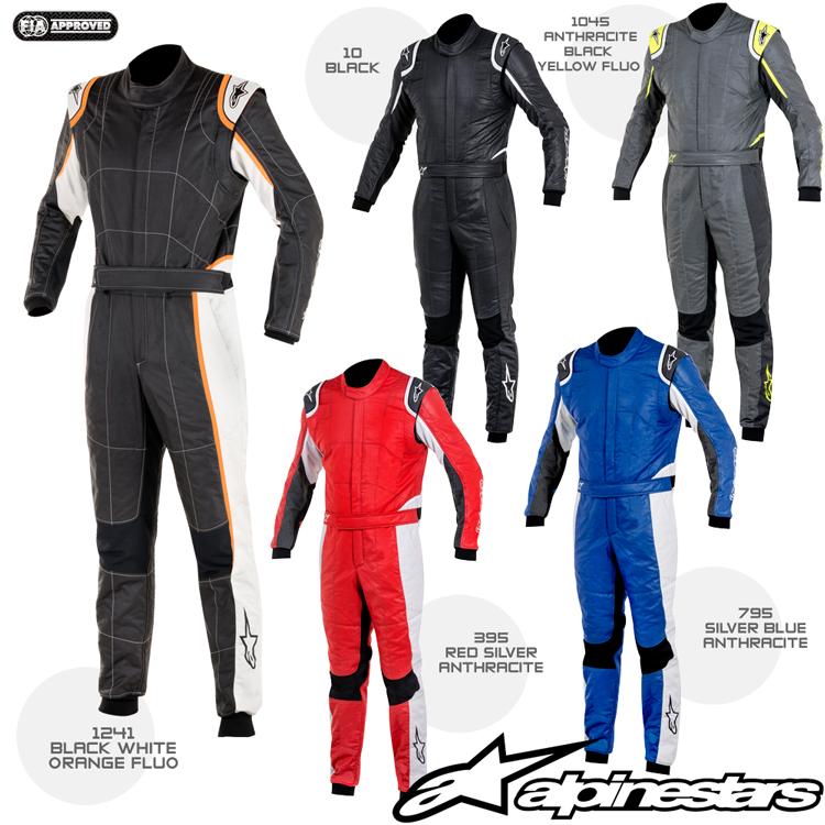 2016-18モデル アルパインスターズ GP TECH SUIT (ジーピー・テック) レーシングスーツ FIA8856-2000公認モデル (3354016)