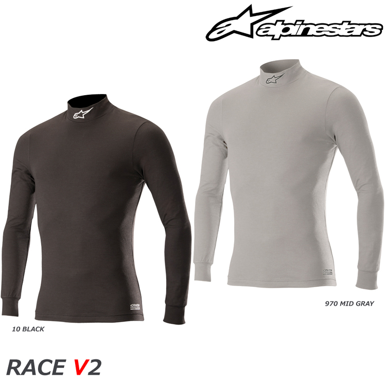 2018-19モデル アルパインスターズ RACE V2 TOP アンダーウェア 2020春夏新作 FIA8856-2000公認モデル セール特価品 トップ 4754018
