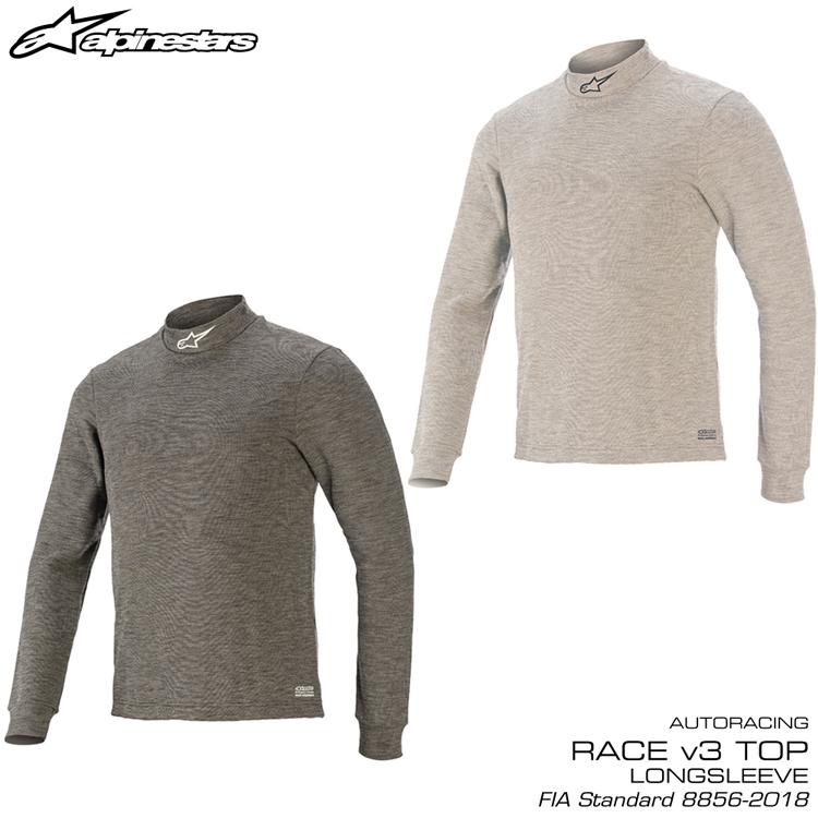 2020NEWモデル アルパインスターズ RACE V3 LS TOP トップ アンダーウェア FIA8856-2018公認モデル TECHNICAL UNDERWEAR (4754020)