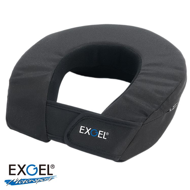 お求めやすく価格改定 EXGEL エクスジェル ネックサポート17M AKK32M-BK 本日限定 レーシングカート用 大人用