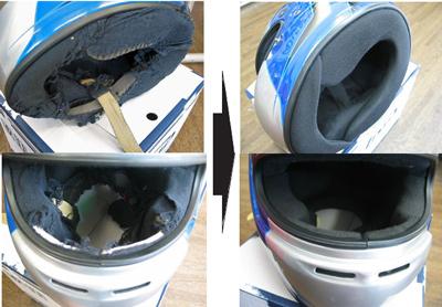 Arai ARAI HELMET装修交换SK-5 GP-5S GP-5对应(到厂商的邮费包含)