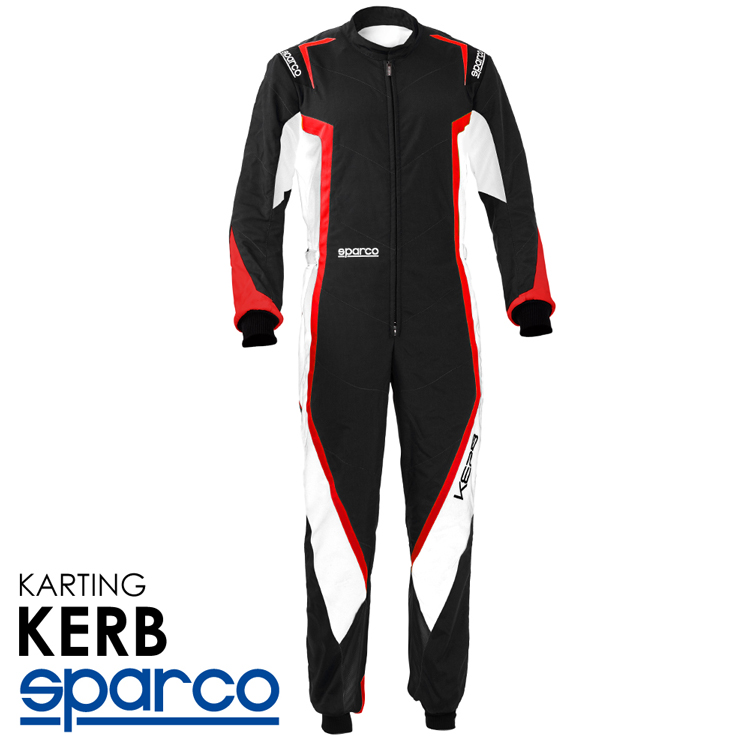 2020NEWモデル SPARCO スパルコ レーシングスーツ KARB KART ブラック×レッド レーシングカート・走行会用モデル CIK-FIA Level2/N/2013-1公認 (002341NBRS_)