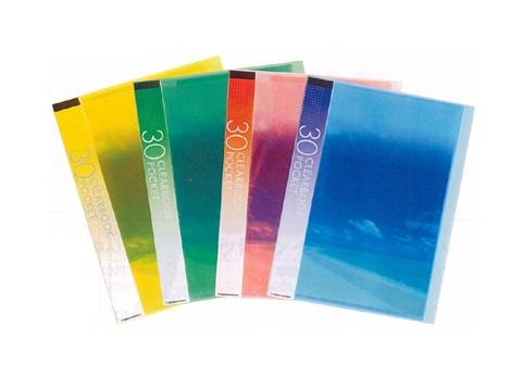 ●日本正規品● クリアブックA4S 30ポケット 新品■送料無料■ 10冊組 タテ入れ
