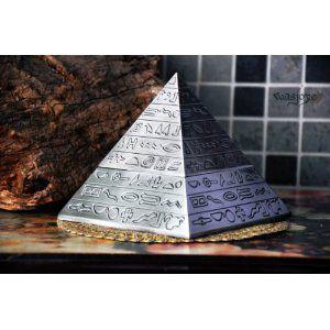 灰皿 ピラミッド型 アンティーク風