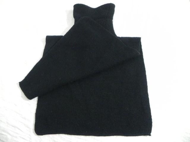 帳單領子熱的高領風格簡單假貨黑色