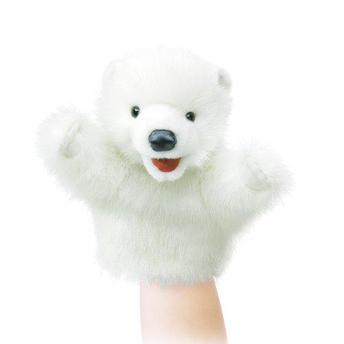 【並行輸入品】フォークマニス社 リトルパペット シロクマ