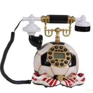 置物 電話機 電話器 サッカーボール シューズ型