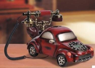 置物 電話機 電話器 アンティーク風 クラシックカー