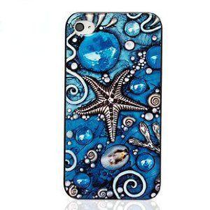 海好きマリンスポーツ好きにおすすめのiPhoneケース 在庫処分 iPhone4 4S 青いサンゴ礁 ケース 正規取扱店 メーカー再生品 送料無料