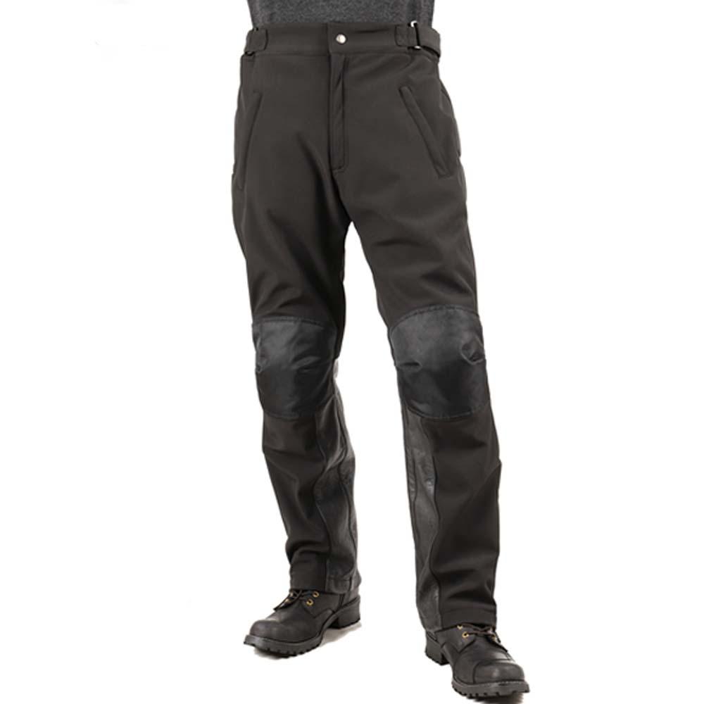 【送料無料★デグナー認定WEB正規代理店】デグナー(DEGNER)★メンズソフトシェルオーバーパンツ/ MEN'S SOFT SHELL OVER PANTS ブラック DP-29