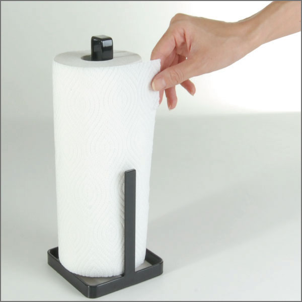 Kitchen Paper Dispenser Tower Stands Towel Holder Case Fashion